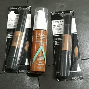 Almay and Covergirl Makeup